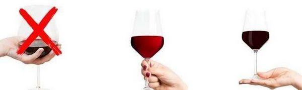 како да се чува чаша вино