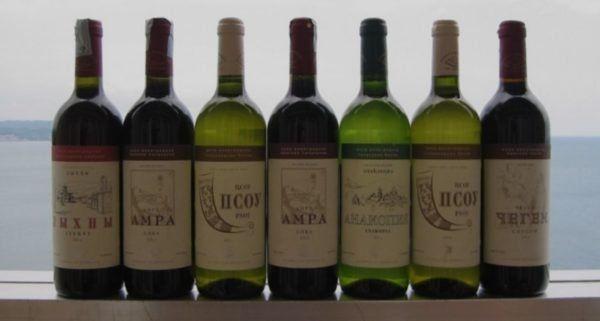 Абхазиски вина