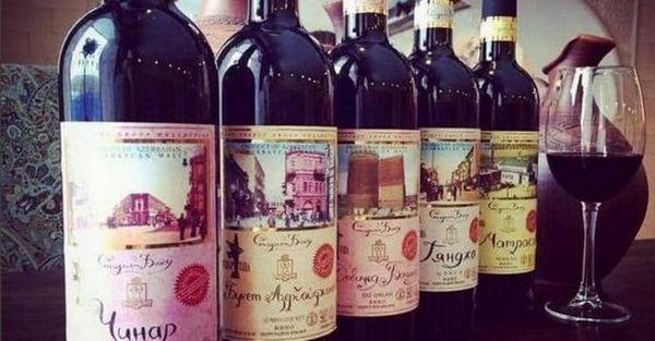 Vinurile din Azerbaidjan este cea mai largă linie de produse de calitate.
