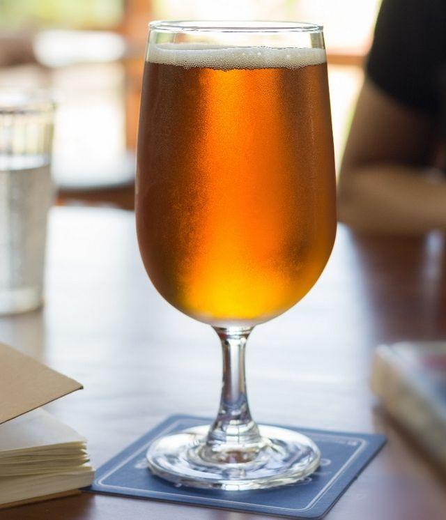 fotografija medenog piva braggot
