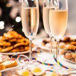 fotografia, ktorá sa dá servírovať so šampanským