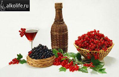 вино зі смородини фото