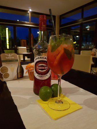 foto kako popiti aperitiv Gancha Americano