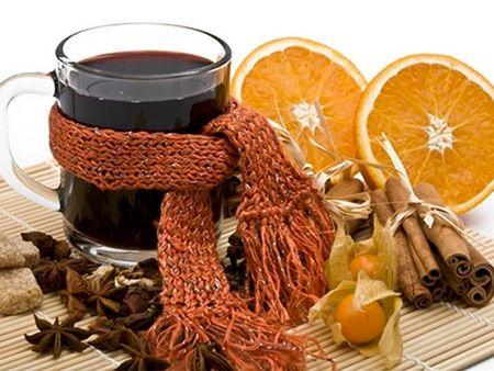 vin cald cu portocale