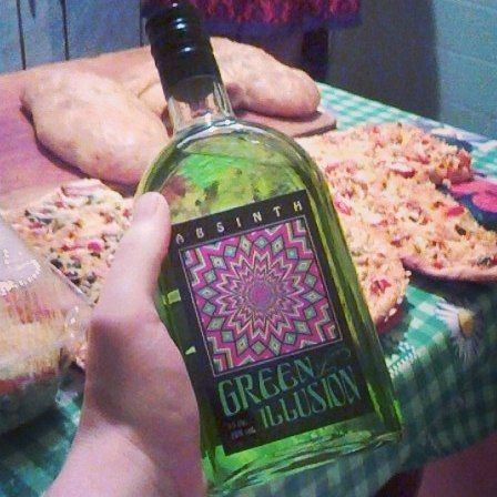 абсент зелена ілюзія фото