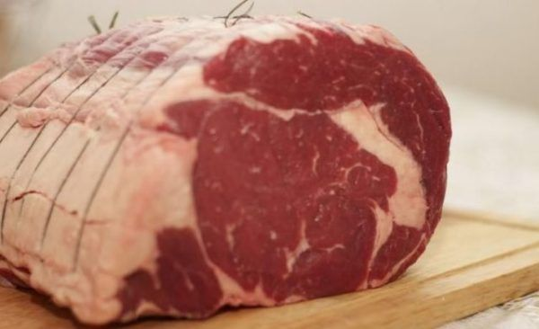 м`ясо з жирком