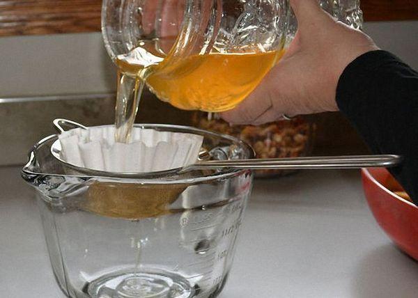 Tulpina gata de tinctură de mere