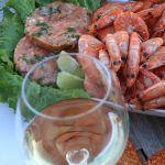 belo vino z ribami