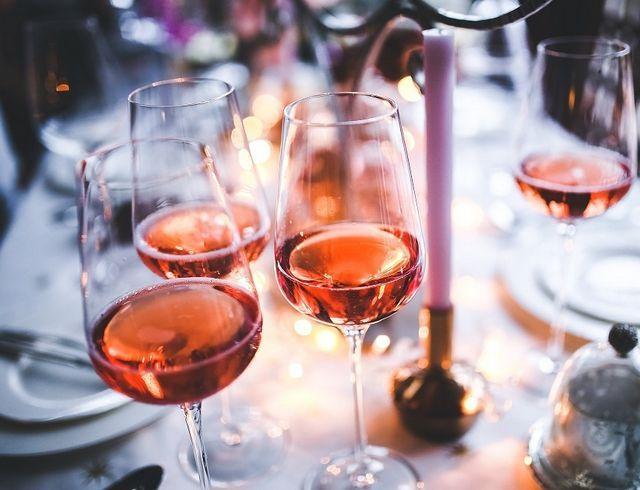 rosé vino za ribe