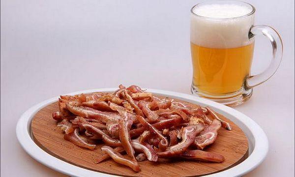 Litovské bravčové uši na výrobu piva