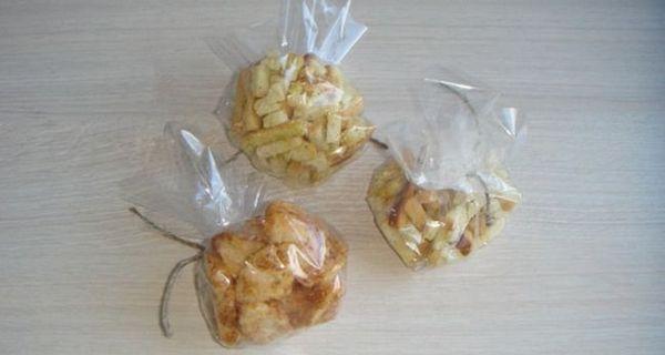 Мішечки з сухариками