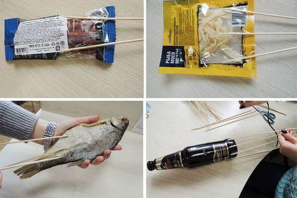 букет з пива і риби своїми руками