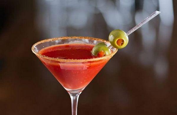 Kako napraviti Martini s maslinom