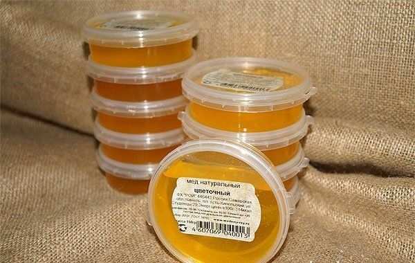 miere în borcane