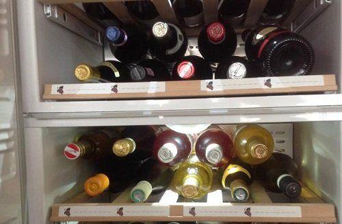 зберігаємо вино в холодильнику