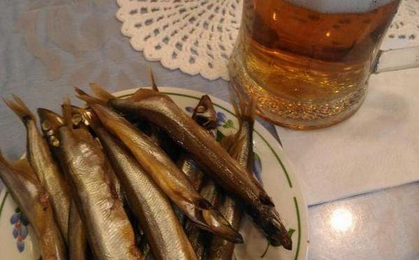 А маленька рибка до пива зручна тим, що її вже не потрібно чистити.