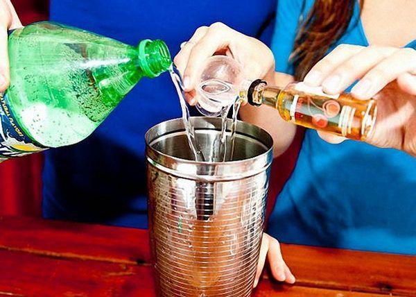 Ulijte Martini liker i sprite