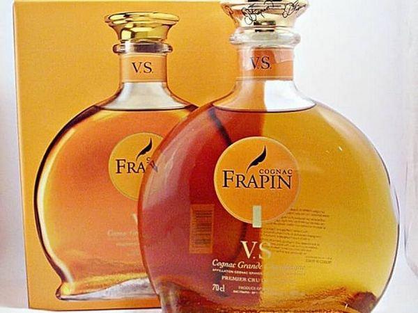 Ноти виноградної лози і ванілі простежуються в ароматі frapin vs.