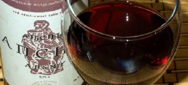 Црвено вино Апсни