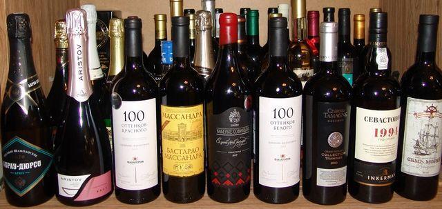 познати брендови на вино Краснодар