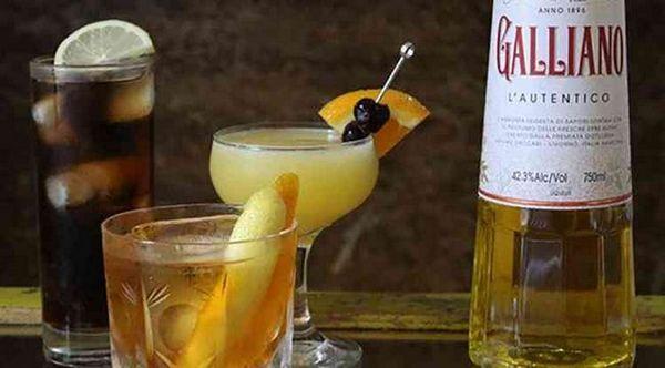 Lichior Galliano cum să servești o băutură