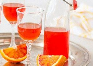Tinctura de alcool pe portocale
