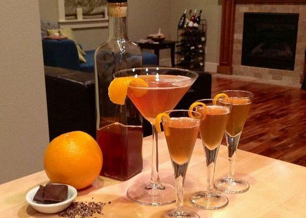 Tinctura de alcool pe coji de portocale