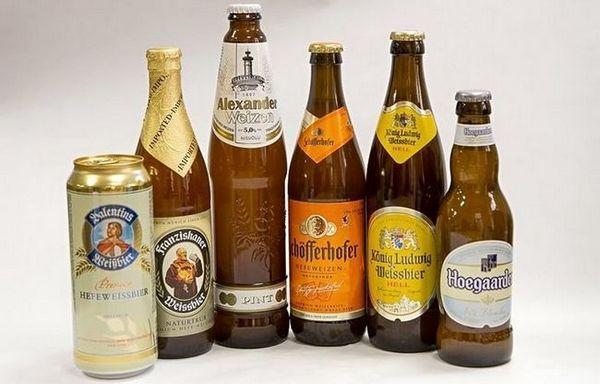 Značky nefiltrovaného piva