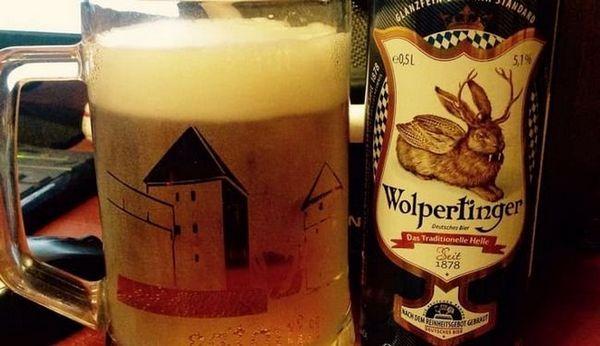 Пиво Вольпертінгер традиційне це якісне світле пінне.