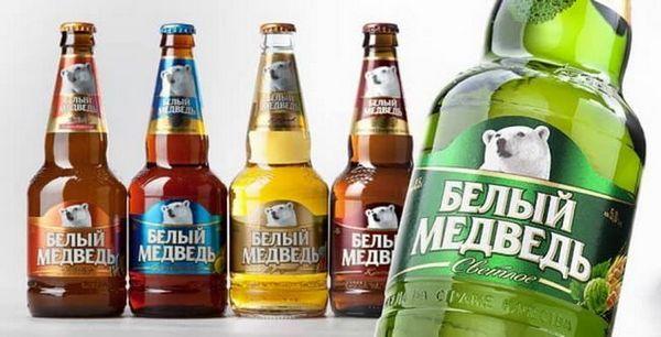 безалкогольне пиво білий ведмідь і всі інші представники