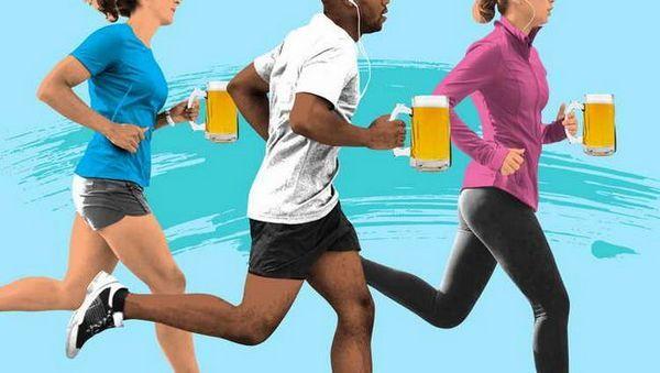 pivo po tréningu, výhody a poškodenie