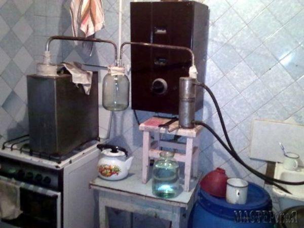 prestaňte destilovať rmut