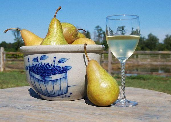 Hruškovo vino z jabolki