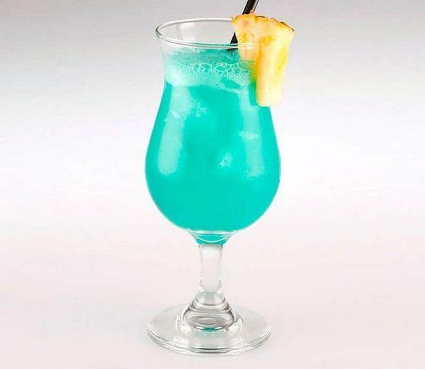 Коктейль блакитні Гаваї: склад