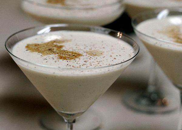 Brandy a krémový koktejl