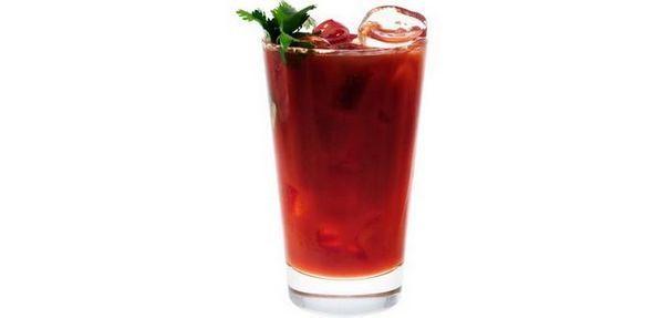 Tabasco koktejly Krvavá malá Masha
