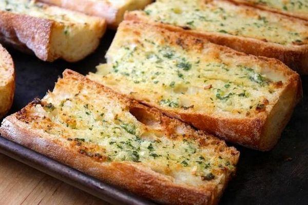 Часниковий хліб рецепт