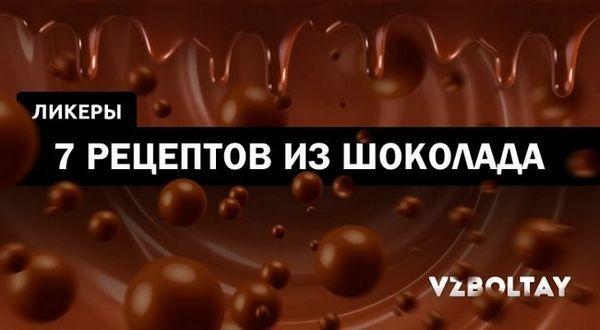 Рецепти шоколадного лікеру