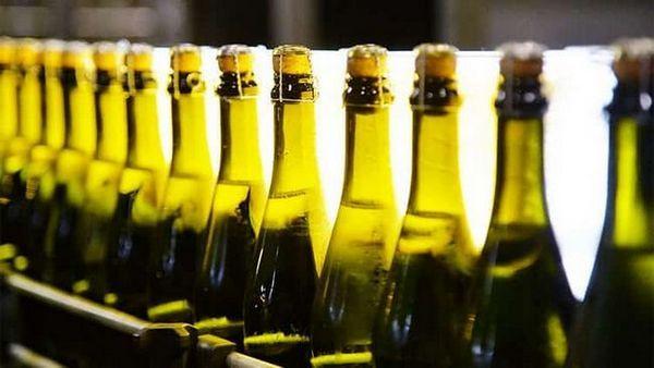 koľko stupňov šampanského