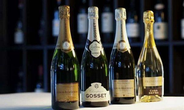 koľko kalórií v šampanskom