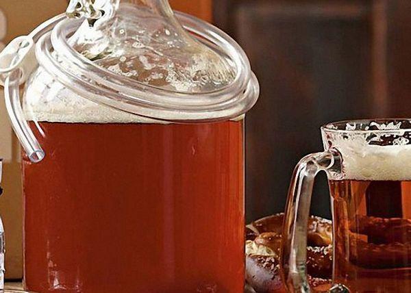 Пивне сусло процідити і настояти