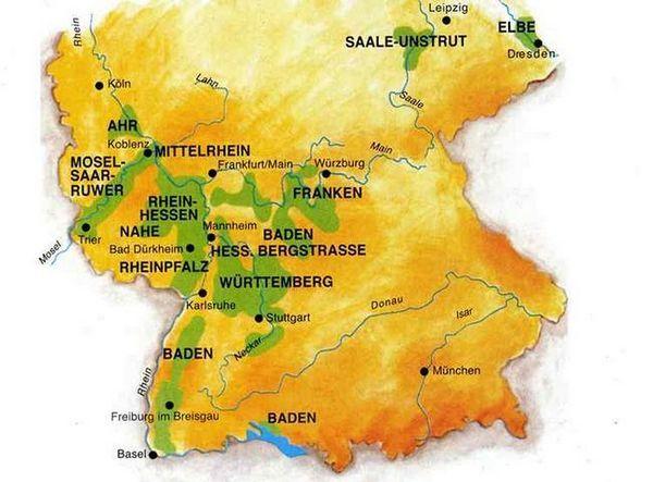 Вински региони Немачке