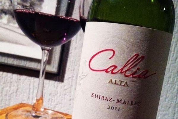 Și aici este unul dintre reprezentanții vinului malbec, Argentina.