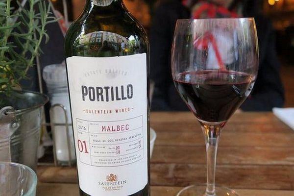 Și iată un alt brand de vin malbec.