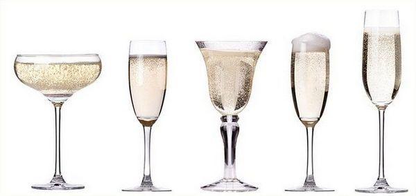 Mnogi vole čaše za šampanjac Bohemia.